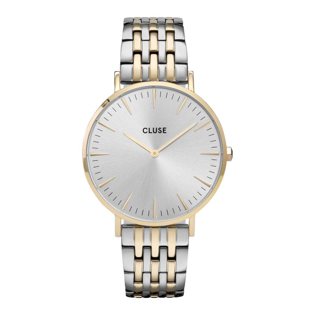 CLUSE CLUSE horloge La Bohème Gold Silver