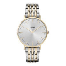CLUSE CLUSE horloge Boho Chic Multi-Link Gold/Silver