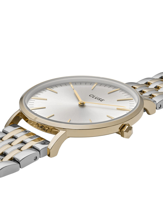 CLUSE horloge Boho Chic Multi-Link Gold/Silver