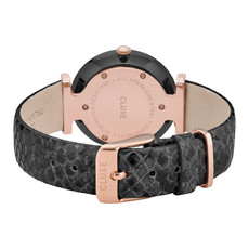 CLUSE CLUSE Horloge Triomphe Leather Black Pearl/Phython CW0101208012