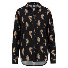 Catwalk Junkie Catwalk Junkie blouse Night Tiger Black
