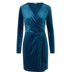 MbyM MbyM jurk Rewind Madena Blue Velvet