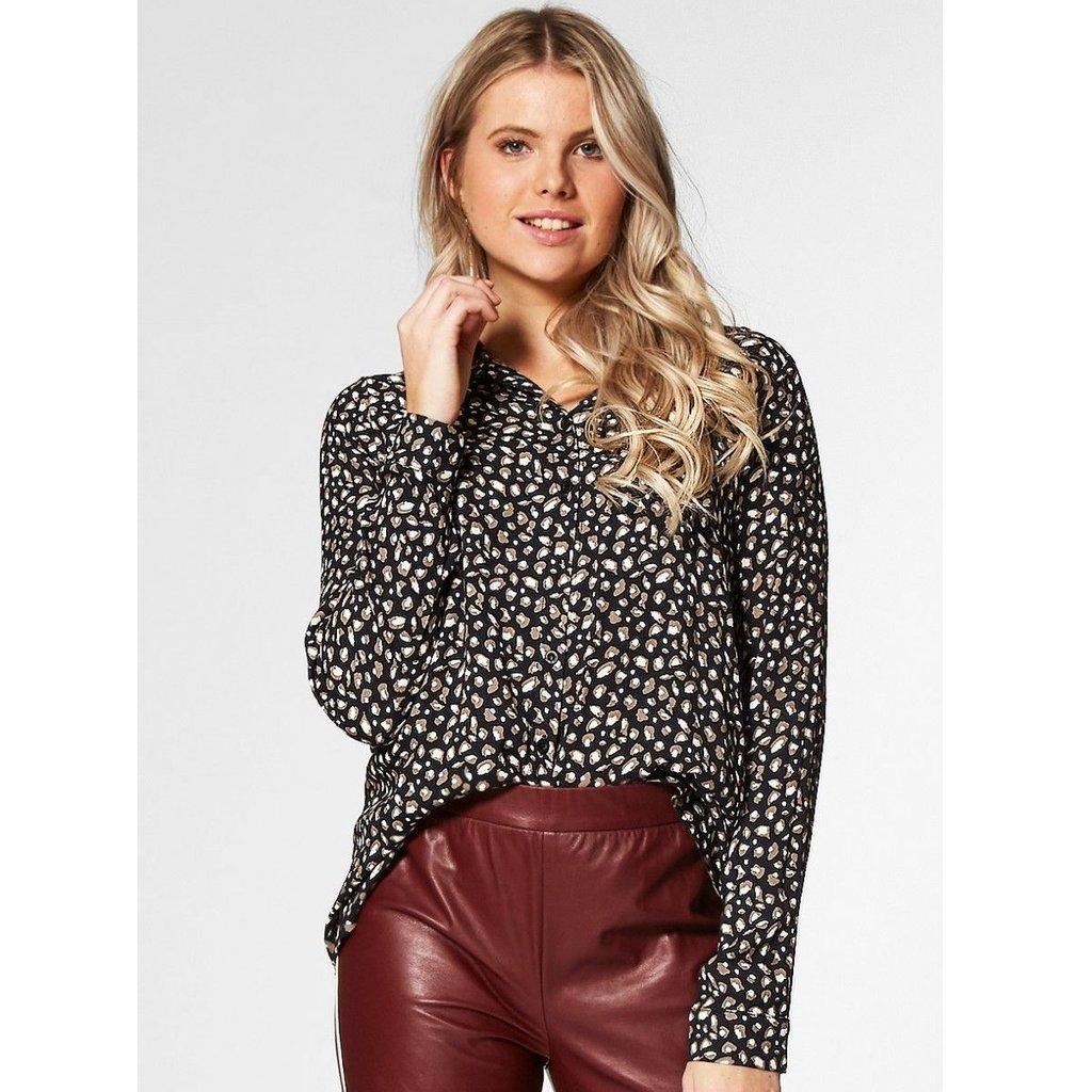 Circle of Trust Circle of Trust blouse Lisanne Leopard Hidden Sand