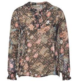 Nukus Nukus blouse Maud Flower Black