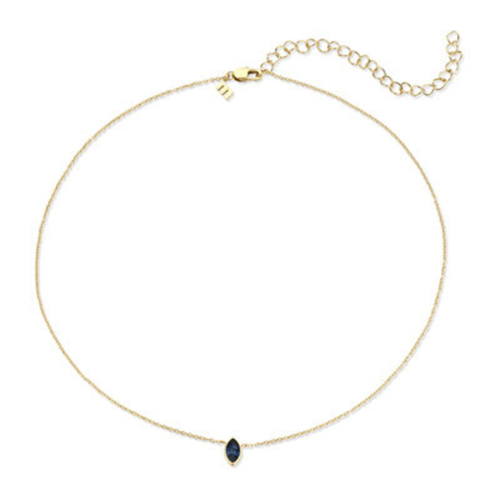 Melano Melano Friends ketting Marquise  Gold Plated Montana