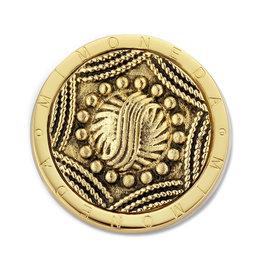 Mi Moneda Mi Moneda Classic munt Misterio SS Gold Plated