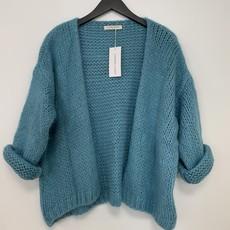 Alexandre Laurent Alexandre Laurent vest Pull Mohair Ocean Blue