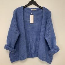 Alexandre Laurent Alexandre Laurent vest Pull Mohair Lavendel Blue