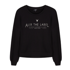 ALIX The Label ALIX trui Knitted Heavy Loop Sweater