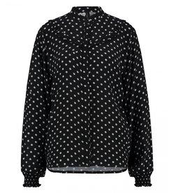 Catwalk Junkie Catwalk Junkie blouse Daisy Dotted Black