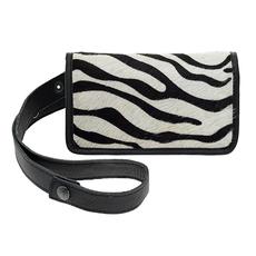 Elvy Elvy tas Amy Fanny Pack Skin Zebra