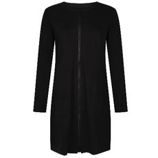 Zoso Zoso vest 195 Master Luxury sweat Black