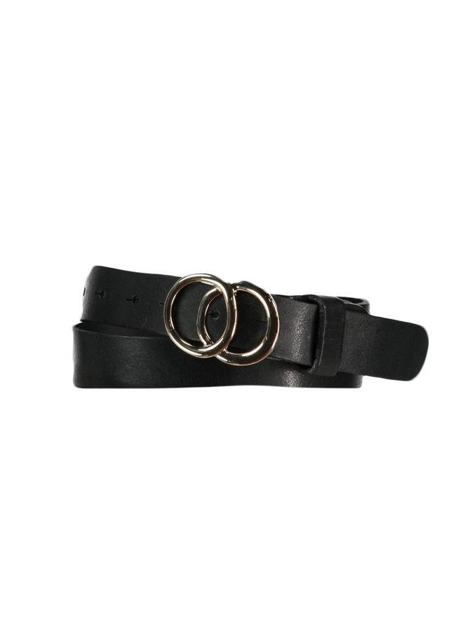 Elvy riem Circles Gold 30842 Black