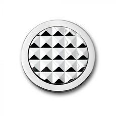 Mi Moneda Mi Moneda munt Stud Silver Toned maat S