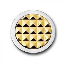 Mi Moneda Mi Moneda munt Stud Gold Toned maat S