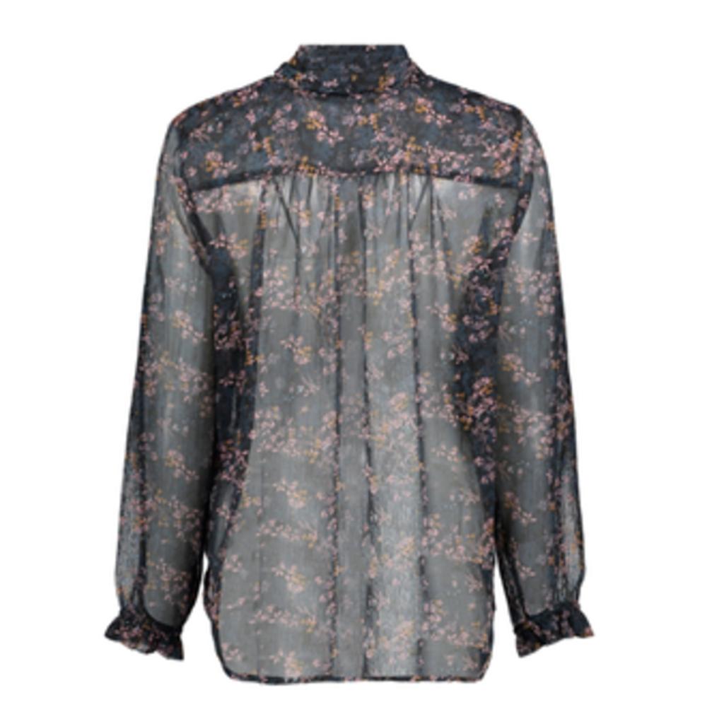 Saint Tropez Saint Tropez blouse U1110 Bl. Deep