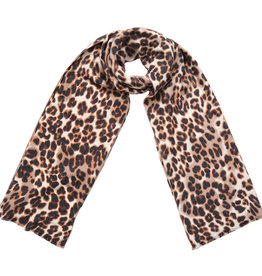 Sjaal Cozy Leopard Brown