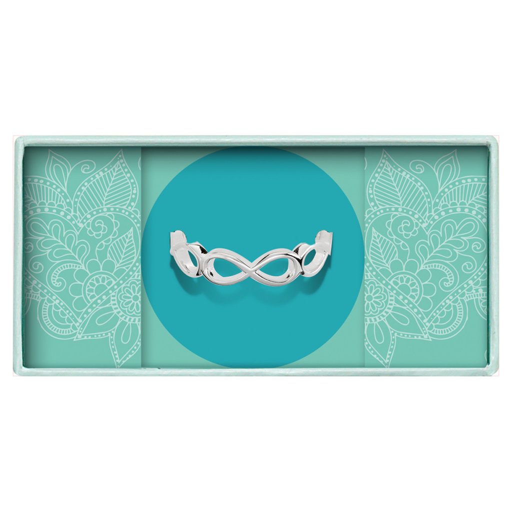 Heart to Get Heart to Get ring Infinity Round Silver