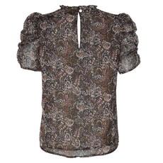 Neo Noir Neo Noir blouse Dorris Winter Garden Zwart