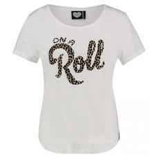 Catwalk Junkie Catwalk Junkie T-shirt On A Roll Off White