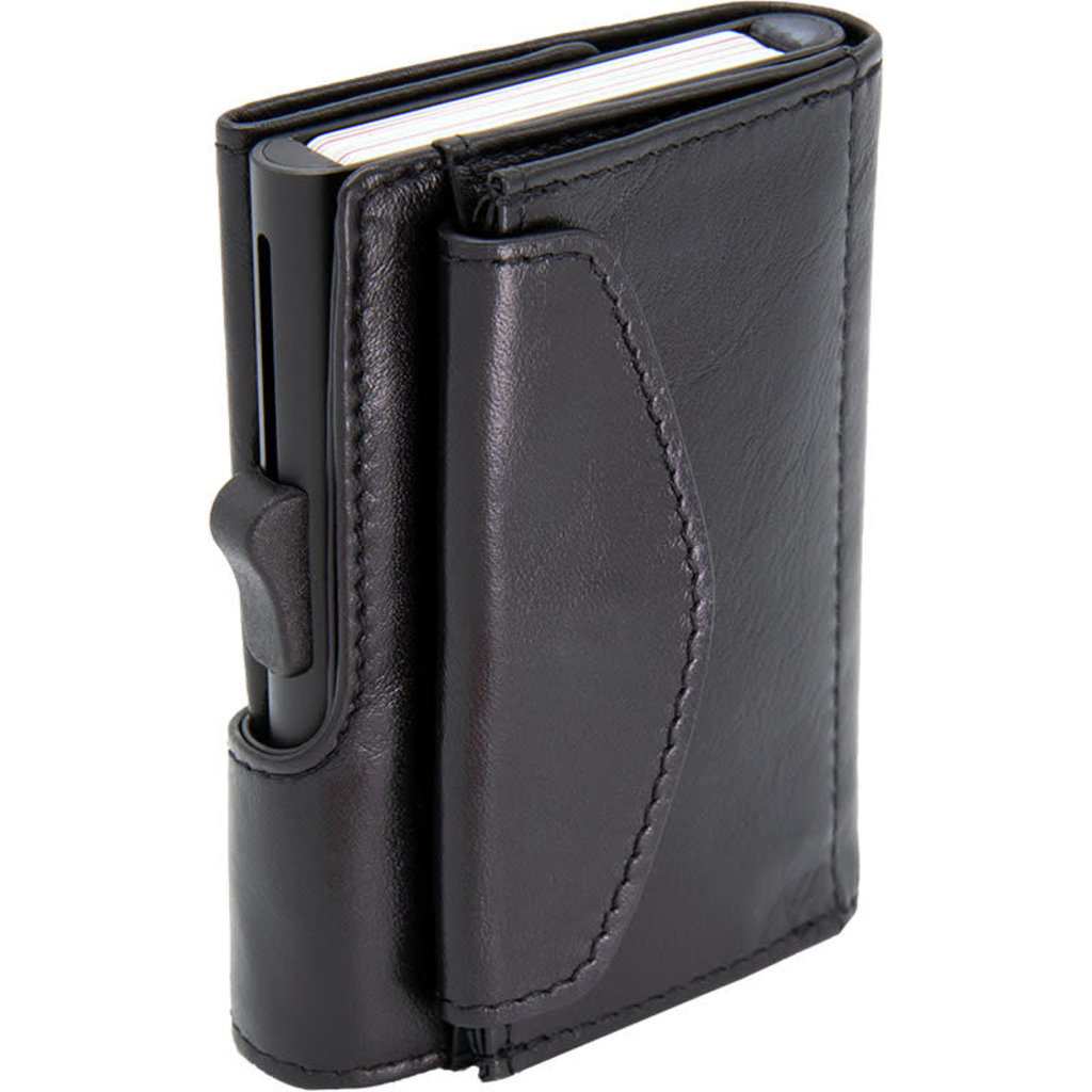 C-Secure C-Secure Coin Wallet XL Zwart