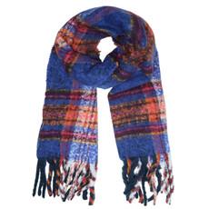 Sjaal Cosy winter Kobalt