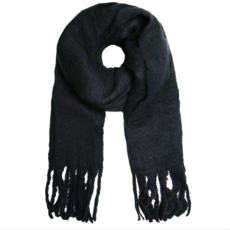 Sjaal Solid Colour Black