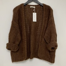 Alexandre Laurent Alexandre Laurent vest Pull Mohair Brown