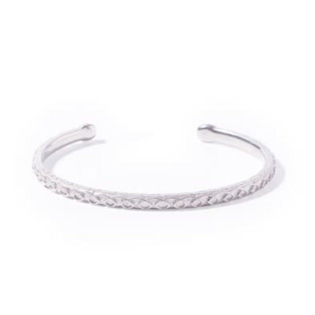 Noosa NOOSA Symbol armband Samsara Silver