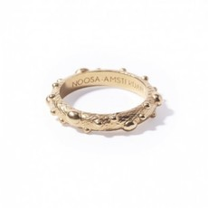 Noosa NOOSA Symbol ring Bumps Gold Plated