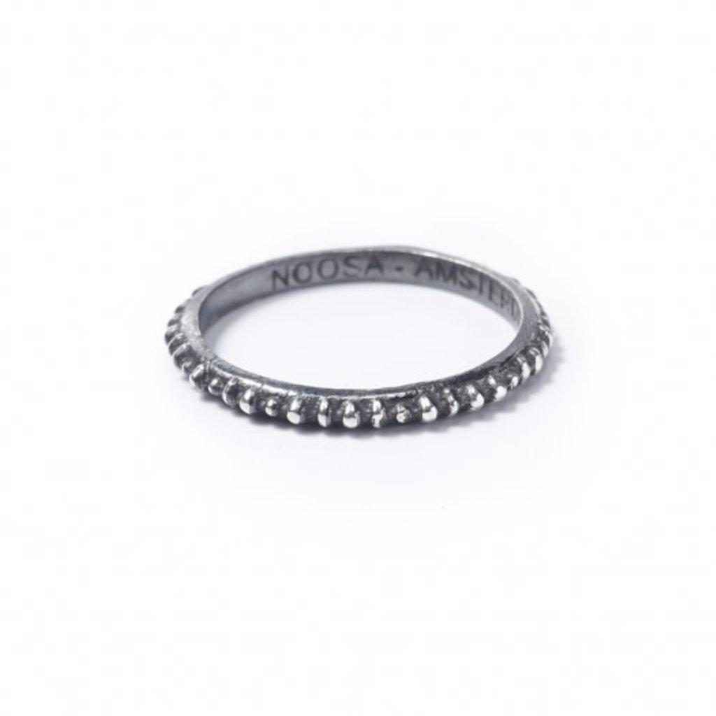 Noosa NOOSA Symbol ring Masai Oxydized Silver