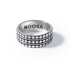 Noosa NOOSA Symbol ring Arabesque Oxidyzed Silver