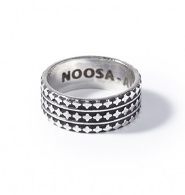 Noosa NOOSA Symbol ring Arabesque Oxidyzed Silver