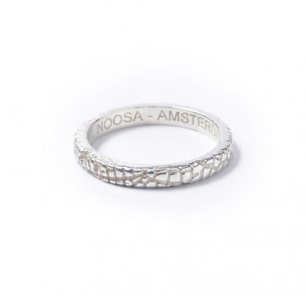 Noosa NOOSA Symbol ring Midsummer Silver