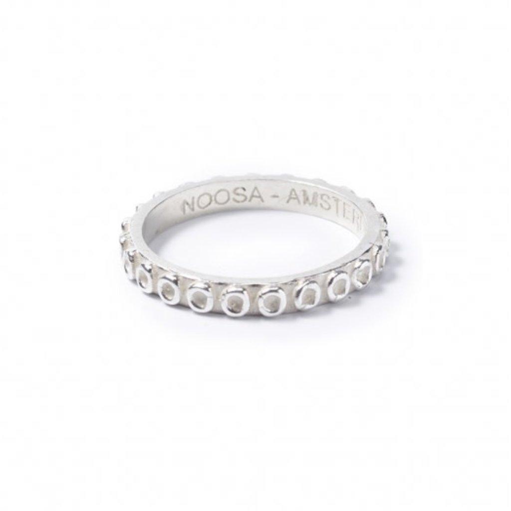 Noosa NOOSA Symbol ring Solar Silver Maat 56