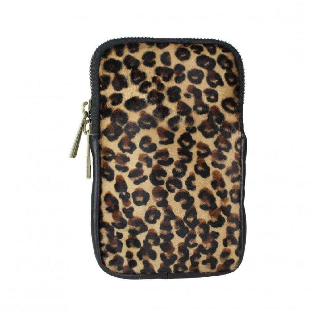 Baggyshop Baggyshop tas Call Me Up Leopard