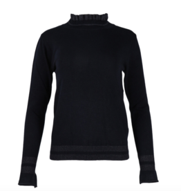 Nukus Nukus sweater Tabita Mouw Frill Navy