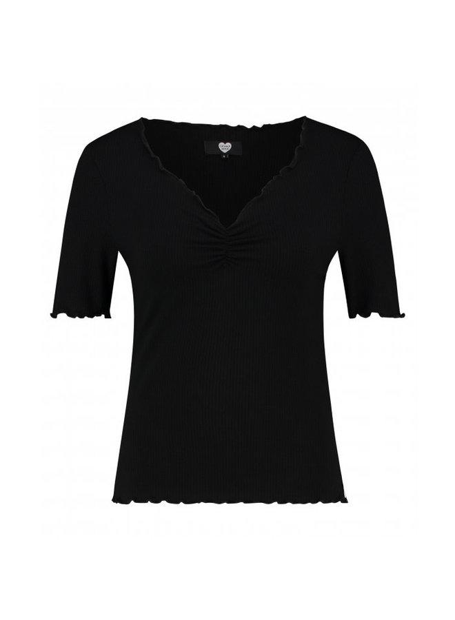 Catwalk Junkie T-shirt Bella Black