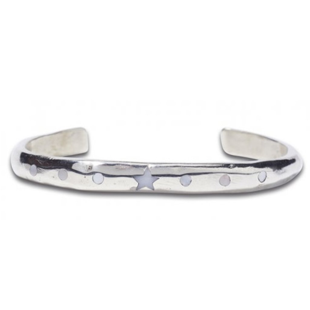 Noosa NOOSA armband Raw Romance Silver