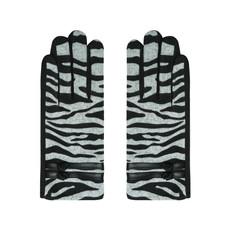Handschoenen Zebra Grijs