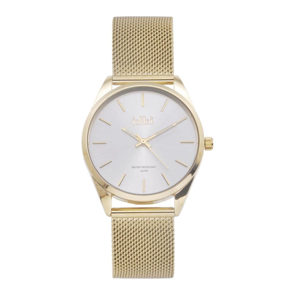 IKKI iKKi horloge Jacky JCK02 Gold Plated/Silver