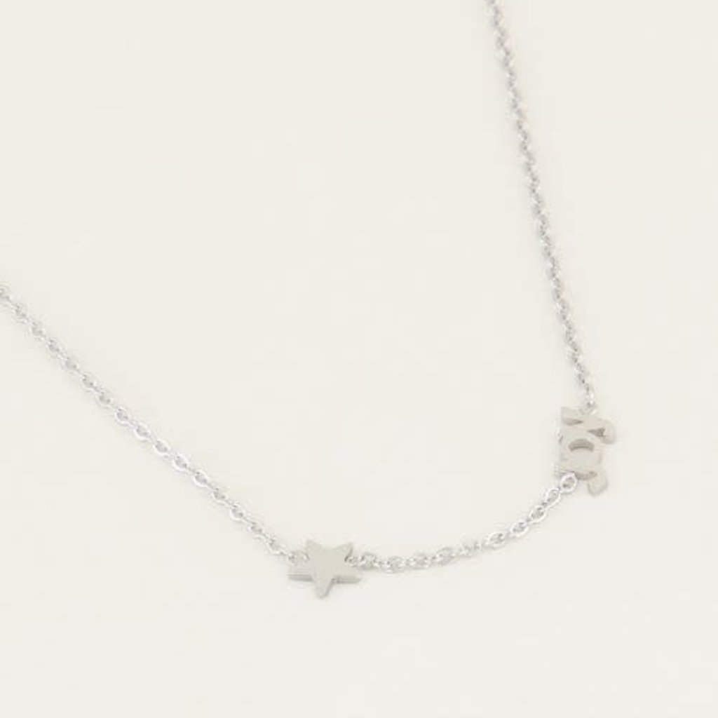My Jewellery My Jewellery ketting Joy met Ster Zilver
