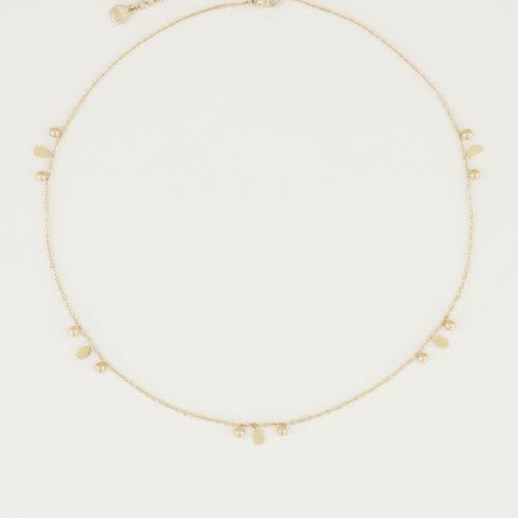 My Jewellery My Jewellery ketting Druppeltjes & Bolletjes Goud