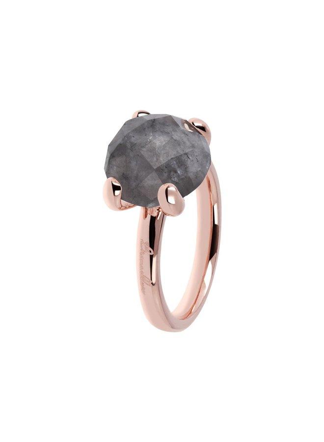 Bronzallure ring 013 Grey Rosé Gold