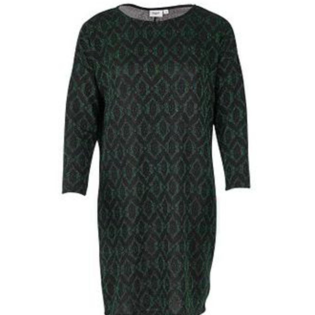 Saint Tropez Saint Tropez jurk T6529 Shimmer Green