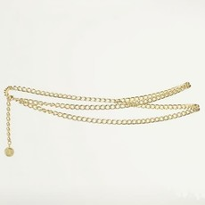 My Jewellery My Jewellery ketting riem La Vita e Bella Goud