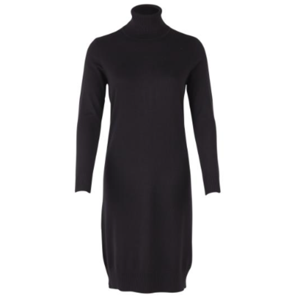 Saint Tropez Saint Tropez jurk U6801 Knit Black