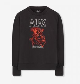 ALIX The Label ALIX sweater Red Tiger Black