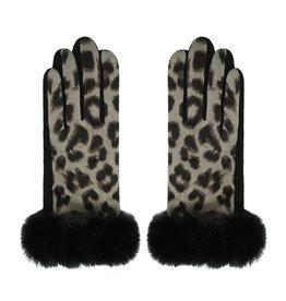 Handschoenen Soft Leopard