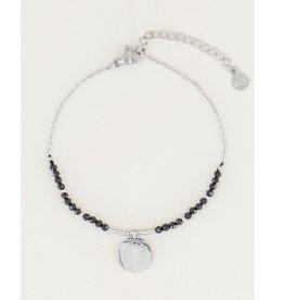 My Jewellery My Jewellery armband Bedel & Black Onyx Zilver